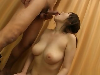 Horny Asian babe plays with toys and a hard dick