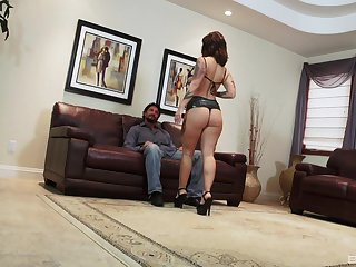 Tattooed and horny Dolly Darko is ready for hard sex with her lover