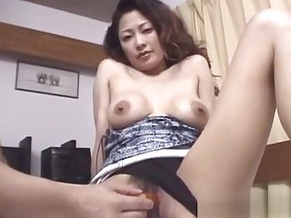 Shy asian milf pounded in pov