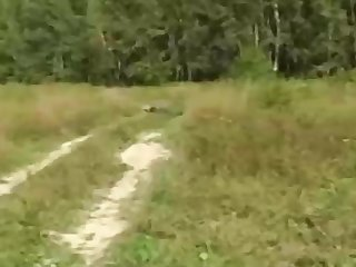 Russian girl is regularly having mischievous fuckfest in be passed on nature, in be passed on be means of be passed on day