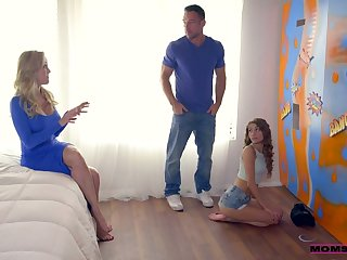 Ardent and rapacious Brandi Love goes nuts during awesome MFF threesome