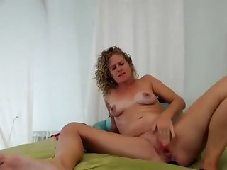 Blonde Milf Toying Her Butthole And Pissing Part 04