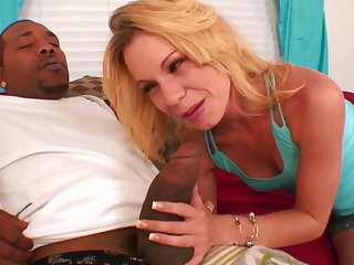 Steamy Blond Hair Girl Bitch Gets Had Intercourse By A BBC