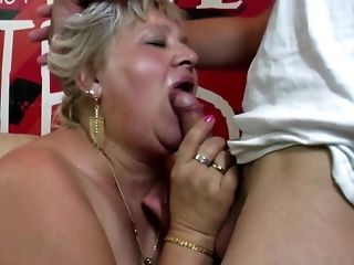 Round granny and mature mother attempt youthful peckers free porn